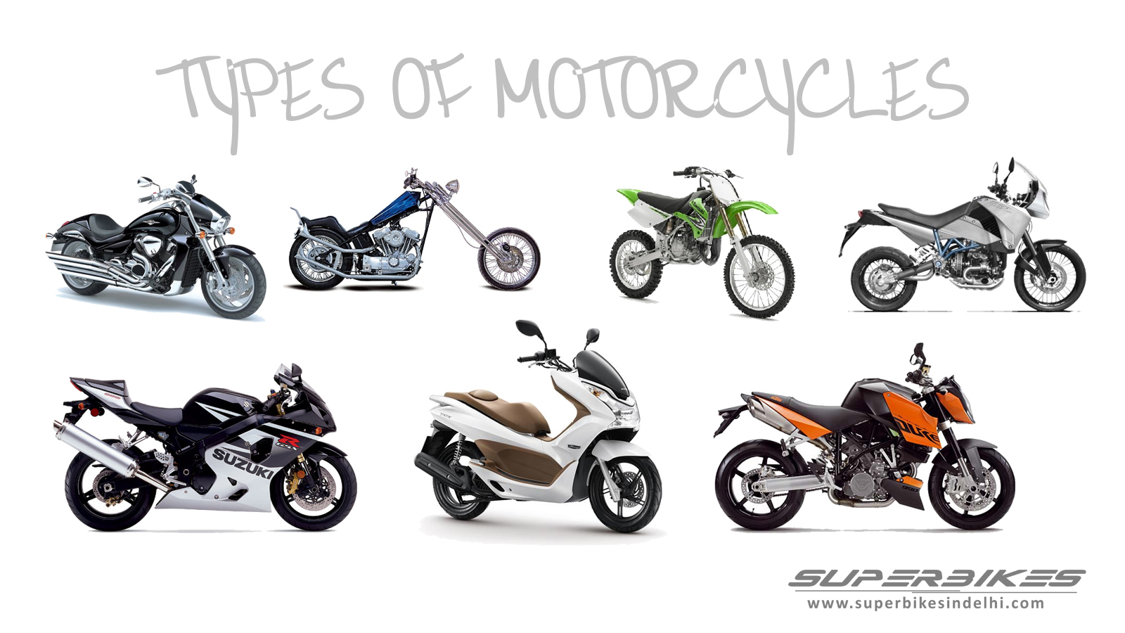 All Types Of Yamaha Bikes